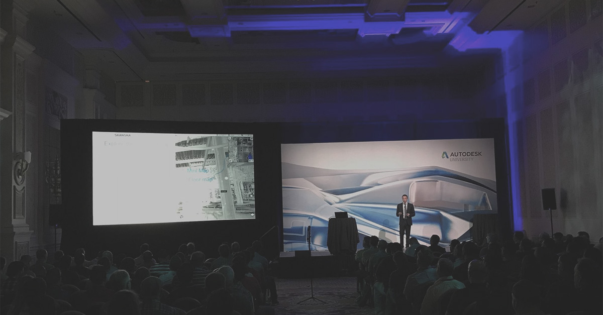 Our 3 takeaways from Autodesk University 2018
