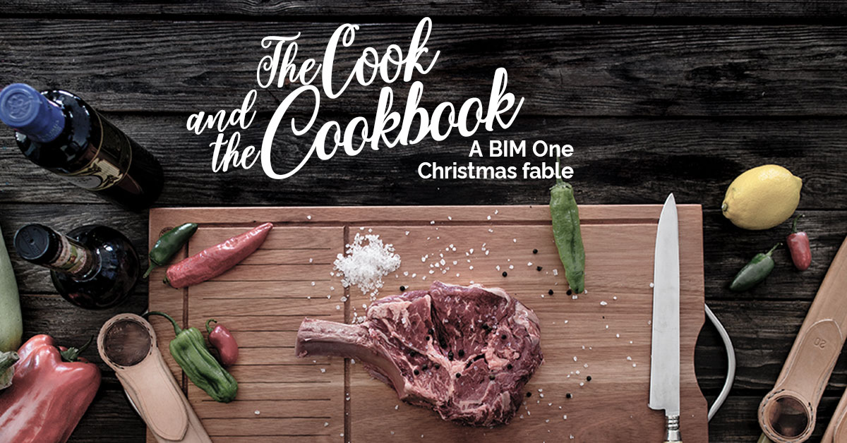 The Cook and the cookbook