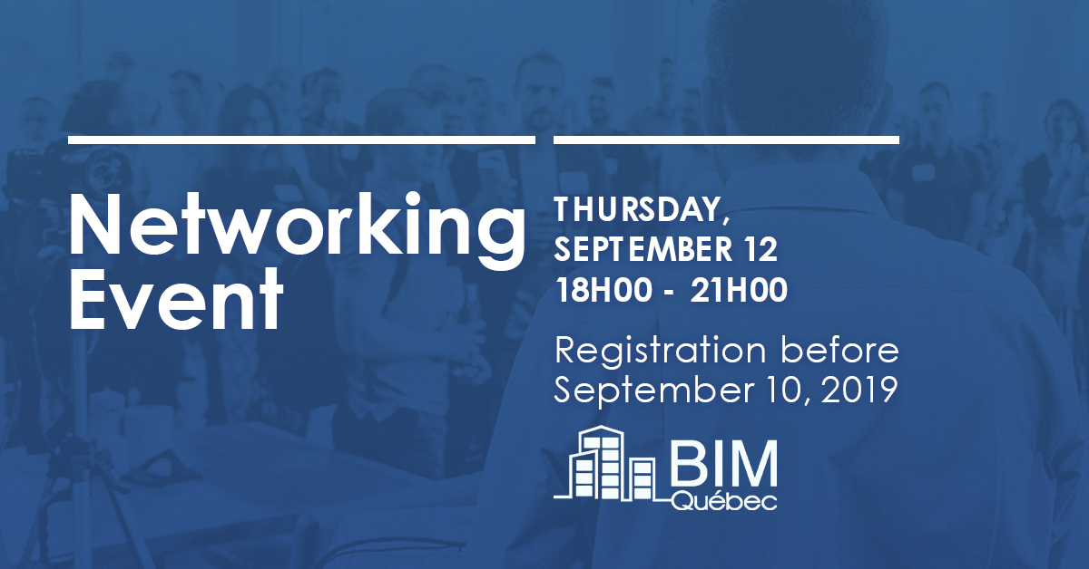 Groupe BIM du Québec networking evening
