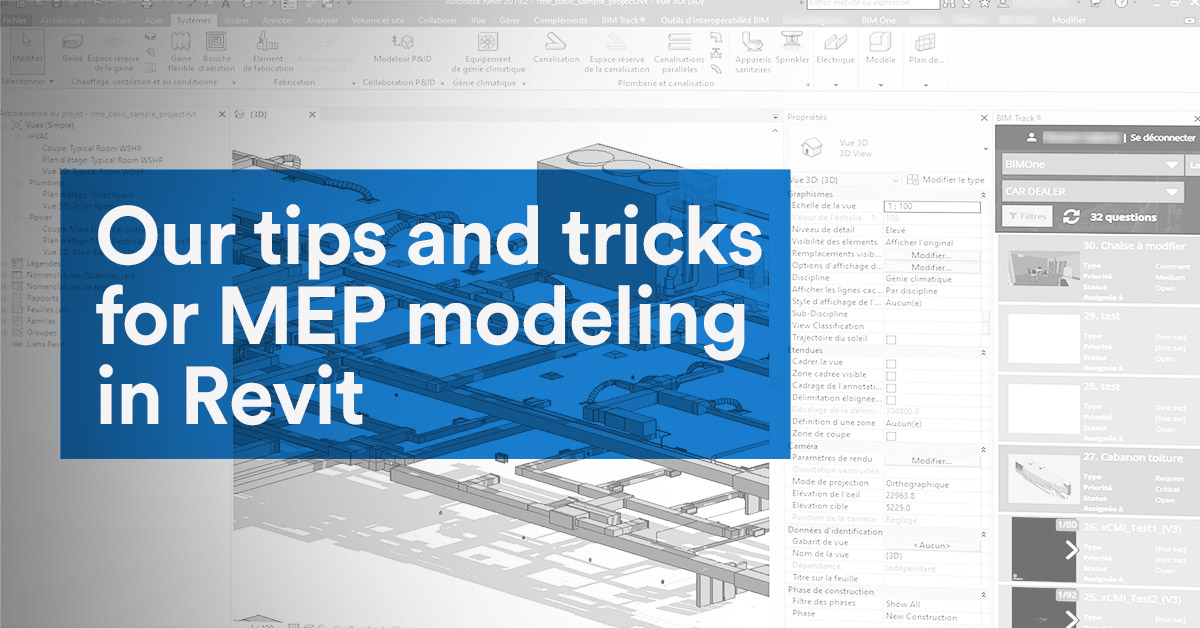 Our tips and tricks for MEP modeling in Revit